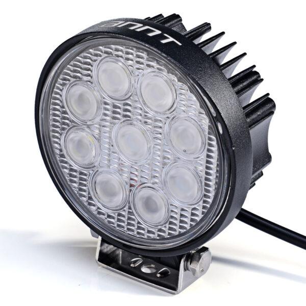 led werklamp rond 27w, 27 watt rond werklicht