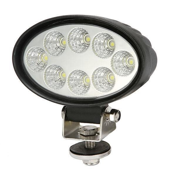 24w led werklamp, led werklampen, 24w, 12v, 24v, ovaal, oval