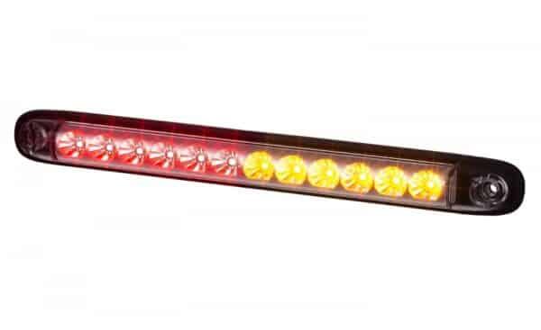 Achterlicht. achterlamp, achterlampen, remlicht, knipperlicht, dimlicht, 12V 24V, smalle versie