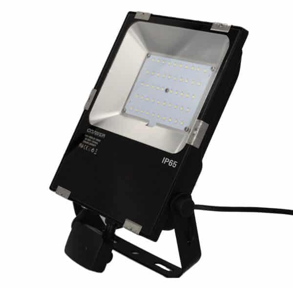 230v Led werklamp 50 watt incl. bewegingsmelder